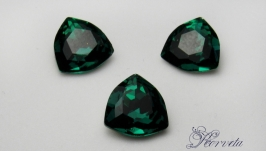 Риволи Trilliant 12mm Malachite Green