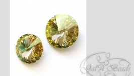 Риволи SWAROVSKI код 1122 (12,14,16,18 мм) Luminous Green