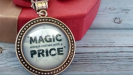 Кулон «Magic always comes with a price»