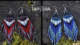 Серьги Tanisha beads орнамент