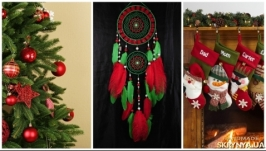 Dreamcatcher red green mosaic Dream Catcher Large Dreamcatcher