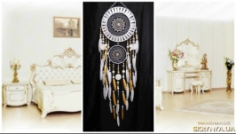 NOW Dreamcatcher White gold mosaic Dream Catcher Large Dreamcatcher