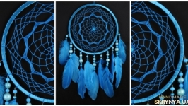 Christmas Dreamcatcher Blue Dream Catcher