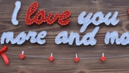 String Art ′I love you′