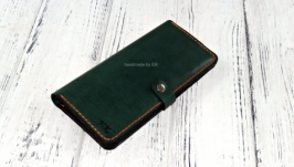 «Long Wallet KR Green