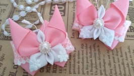 Резинки ′Pink butterfly′