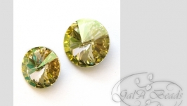 Риволи SWAROVSKI код1122 (12,14 мм) Luminous Green