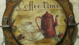 Ключница ′Coffee time′