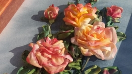3D Silk Ribbon Embroidery